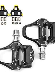 Недорогие -WAKE® Педали Велоспорт Противозаносный 2 Подшипники Aluminum Alloy для Велоспорт Шоссейный велосипед Горный велосипед Черный