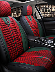 cheap -Four Seasons General Sport Style Fabric Car Seat Full Cover for five-seat car / Linen Material Seat cushion / Airbag compatible / Adjustable and Removable/Family car / SUV