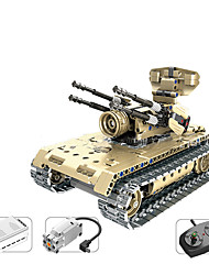 cheap -SHIBIAO Building Blocks Military Blocks Educational Toy Construction Set Toys Nautical Military Warship Fighter Aircraft Police Soldier compatible Legoing DIY Contemporary Classic Classic & Timeless