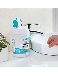 cheap -1 BOX 80 pumps Kitchen Cleaning Supplies  Stove cleaning wipes Disposable degreasing wipes Disposable wipes for kitchen paper Oil blotting paper