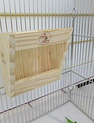 Недорогие -Кормушка для сена для кроликов деревянная настенная сена для мелких домашних животных кролик шиншилла морские свинки