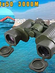 Недорогие -50x50 3000 м оптический бинокль телескопа высокое качество водонепроницаемый высокой мощности определение военная охота на открытом воздухе ясность