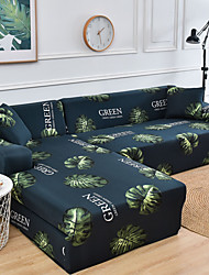 cheap -Nordic Turtle Back Leaf Printed Elastic Sofa Cover Full Package Single Person Three Person Sofa Cover
