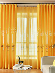 cheap -Gyrohome 1PC Deers Shading High Blackout Curtain Drape Window Home Balcony Dec Children Door *Customizable* Living Room Bedroom Dining Room