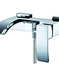 cheap -Bathtub Faucet Electroplated Roman Tub Ceramic Valve Bath Shower Mixer Taps