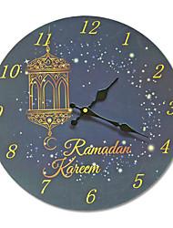 Недорогие -Рамадан абстрактные настенные часы ресторан украшения дома кулон