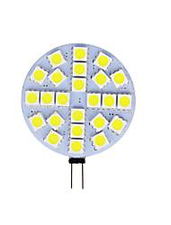 Недорогие -1шт 4 W Двухштырьковые LED лампы 180 lm G4 T 24 Светодиодные бусины SMD 5050 Тёплый белый Холодный белый 12 V