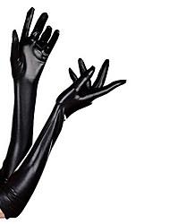 Недорогие -Перчатки Без пальцев Satin Назначение Косплей Косплей Хэллоуин Карнавал Жен. Бижутерия Модное ювелирное украшение