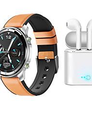 Недорогие -SmartWatch h15 для телефонов Samsung / Iphone / Android, фитнес-трекер Bluetooth с наушниками TWS поддержка измерения частоты сердечных сокращений / артериального давления