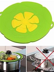Недорогие -Силиконовая крышка Крышка от разлива для кастрюли. Кухонные принадлежности Инструменты для приготовления пищи.