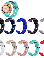 cheap -10pcs bands compatible with galaxy watch(42mm)/galaxy watch 3(41mm),20mm replacement bands for galaxy watch 3(41mm) with rose gold watch buckle(no watch)