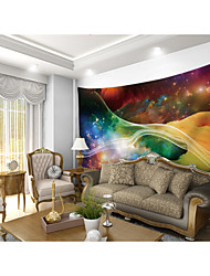 cheap -Custom Tapestry hanging painting color night sky suitable for bedroom living room party activity TV background wall decoration wall art wall clothes Wall Tapestries Decoration
