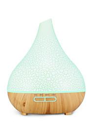 Недорогие -увлажнитель воздуха красочные деревянные зерна эфирное масло ароматерапия машина 400 мл ультразвуковой увлажнитель