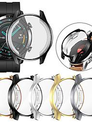 Недорогие -защитная крышка для экрана для часов huawei gt 2 46 мм чехол для gt2 soft tpu устойчивый к царапинам корпус легкий тонкий бампер аксессуары чехол для часов huawei gt 2 46 мм