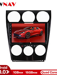 cheap -ZWNAV 9inch 1din 1GB 16GB Android 10 Car DVD Player Car MP5 Player Car GPS navigation Console Car multimedia system Manual Auto compatible auto stereo for Mazda 6 2002-2008
