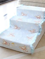 Недорогие -Собаки Лестницы, ступени и лестницы Нескользящий Прочный Спортивный Симпатичные Стиль Хлопок Один размер Желтый Розовый Синий 1 шт.
