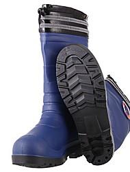 cheap -Men's PVC Spring & Summer Boots Waterproof Mid-Calf Boots Black / Blue