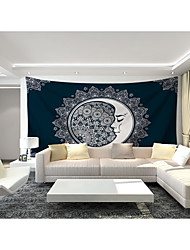 cheap -Custom Tapestry painting sun and moon style suitable for bedroom living room Party activities TV background wall decoration wall art wall clothes   M(150*120cm)