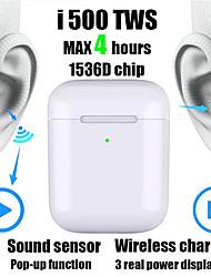 Недорогие -новая i500 tws 2 1 к 1 реплика Bluetooth-гарнитура беспроводная гарнитура 6d сабвуфер звуковой датчик с беспроводной зарядки гарнитуры ПК i100 i200 i1000 tws чип w1 / h1