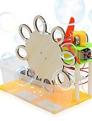 Недорогие -Электрическая Игрушка Пузыря Наборы юного ученого Обучающая игрушка Ветряная мельница деревянный Своими руками Ручная работа деревянный Для подростков Все Игрушки Подарок 1 pcs