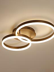Недорогие -современный потолочный светильник 2 водить врезной алюминиевый акрил для гостиной спальни кухня освещения