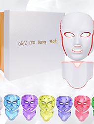 cheap -Electric LED Facial Mask LED mask Light Therapy Beauty Skin Care 7 colors 3 colors women