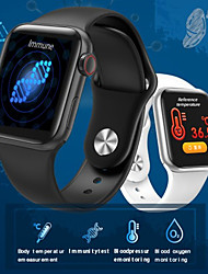 cheap -JSBP PW58  Smart Watch With Body Temperature Test Smart Watch Body Temperature Smart Bracelet Bt Heart Rate Blood Pressure Blood Oxygen For Android Ios System Mobile Phone