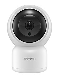 cheap -ZOSI Cloud Storage 1080P 2.0MP 4X Digital Zoom PTZ IP Camera Wireless Auto Tracking Home Security Surveillance 3.6mm Smart Wifi Camera Motion Detection Two Way Audio Night Vision Phone App Monitoring