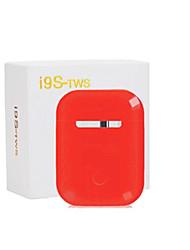 Недорогие -LITBest I9S TWS True Беспроводные наушники Беспроводное Bluetooth 5.0 С микрофоном С регулятором громкости С зарядным устройством Автосоединение Smart Touch Control Мобильный телефон