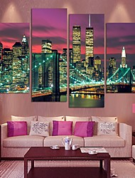 cheap -5 Panels Modern Canvas Prints Painting Home Decor Artwork Pictures Decor Print Rolled Stretched Modern Art Prints Landscape