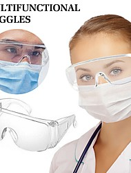 cheap -Safety Goggles for Workplace Safety Supplies ABS+PC Waterproof 0.1 kg