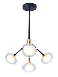 cheap -EMPEROR LANG 4-Light 55 cm Sputnik Design / Cluster Design Chandelier Metal Glass Painted Finishes Modern / Nordic Style 110-120V / 220-240V