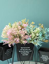 cheap -1pcs Simulation Flower Color Plum Grass Green Plant Decoration INS Wind