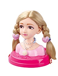 cheap -Pretend Play Pretend Professions & Role Playing Princess Family Head Hand-made Decompression Toys Parent-Child Interaction Plastic Shell Child's Toddler All Toy Gift 1 pcs
