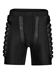 cheap -Impact Shorts for Ski / Snowboard / Ice Skate / Roller Skating Men's / Women's Moisture Wicking / Shockproof / Protection Polyester / Spandex Lycra / EVA 1 Piece Black