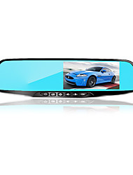 cheap -4.3-inch HD double lens rearview mirror driving recorder with electronic dog can record back-up images in front and back Mirror recorder 3.6 inches 1080p HD Car DVR 170 Degree Wide Angle CMOS