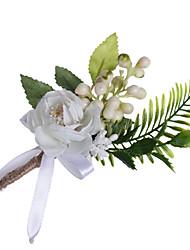 Недорогие -Свадебные цветы Бутоньерки Свадьба / Особые случаи Ткань 0-10 cm