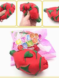 Недорогие -Мягкая игрушка Брелок Медленный рост Устройства для снятия стресса Фрукт Безопасность Удобная ручка Декомпрессионные игрушки Резина Мягкий для Детские Все