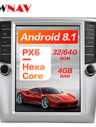 cheap -ZWNAV PX6 10.4 inch 4GB 64GB Tesla style Android 8.1 Car GPS Navigation In-Dash Car DVD Player Car multimedia player radio tape recorder For Volkswagen Magotan 2012-2015