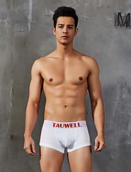 cheap -Men's Basic Boxers Underwear / Briefs Underwear - Asian Size Low Waist White Blue Dark Gray M L XL