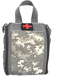cheap -Oxford Cloth Zipper Emergency Survival Bag Color Block Daily Black / Gray Green / Green