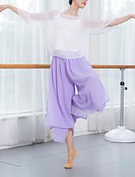cheap -Belly Dance Bottoms Women's Training / Performance POLY Cascading Ruffles Pants