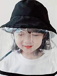 cheap -Kids Girls' Solid Colored Hats & Caps Black S / XL