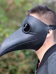 cheap -Plague Doctor Mask Men's Polyester One-Size Black 1pc / pack Adults Sports & Outdoor Basic