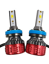 cheap -OTOLAMPARA 2pcs H11 / PGJ19-2 Car Light Bulbs 55 W CSP / CSP1919 4400 lm 2 LED Headlamps For Toyota Corolla / Camry 2018 / 2016 / 2017