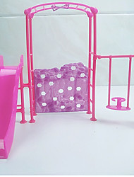 cheap -Dollhouse Accessory DIY Hand-made Parent-Child Interaction Furniture Plastic Shell 3 pcs Child's Adults' All Toy Gift