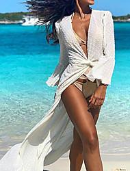 cheap -Women's Swing Dress - Polka Dot Maxi White Blue S M L XL