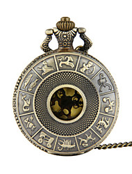 cheap -Unisex Pocket Watch Quartz Titanium Alloy Bronze Creative Casual Watch Analog - Digital Casual - Bronze