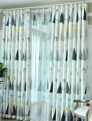 cheap -Gyrohome 1PC GYC2260 Nordic Tree Shading High Blackout Curtain Drape Window Home Balcony Dec Children Door *Customizable* Living Room Bedroom Dining Room