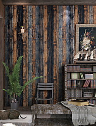 """cheap -Wood Wallpaper - Peel and Stick Wallpaper -Prepasted Wall Paper or Adhesive Shelf Paper - Vintage Multicolored Shiplap Wood Panel Wallpaper (20"""" Wide x 395"""" Long)"""